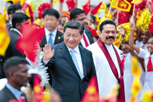 王总国庆节后抵达斯里兰卡,进行为期十天的市场调研和项目考察