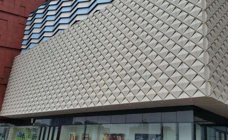 幕墙铝单板的优势是什么?