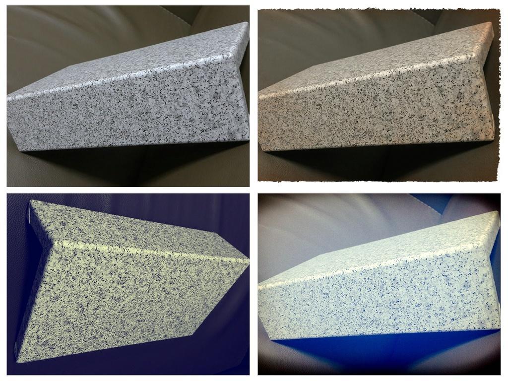 铝单板表面石纹是如何加工的?